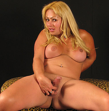 Fat tranny with big cock